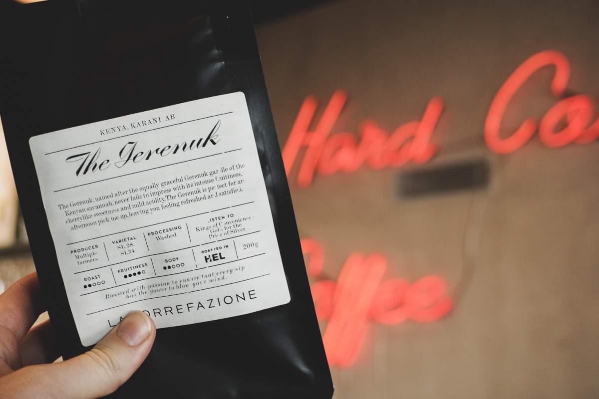 Maista uusin Torre-kahvi. Todellinen hedelmäpommi Keniasta!