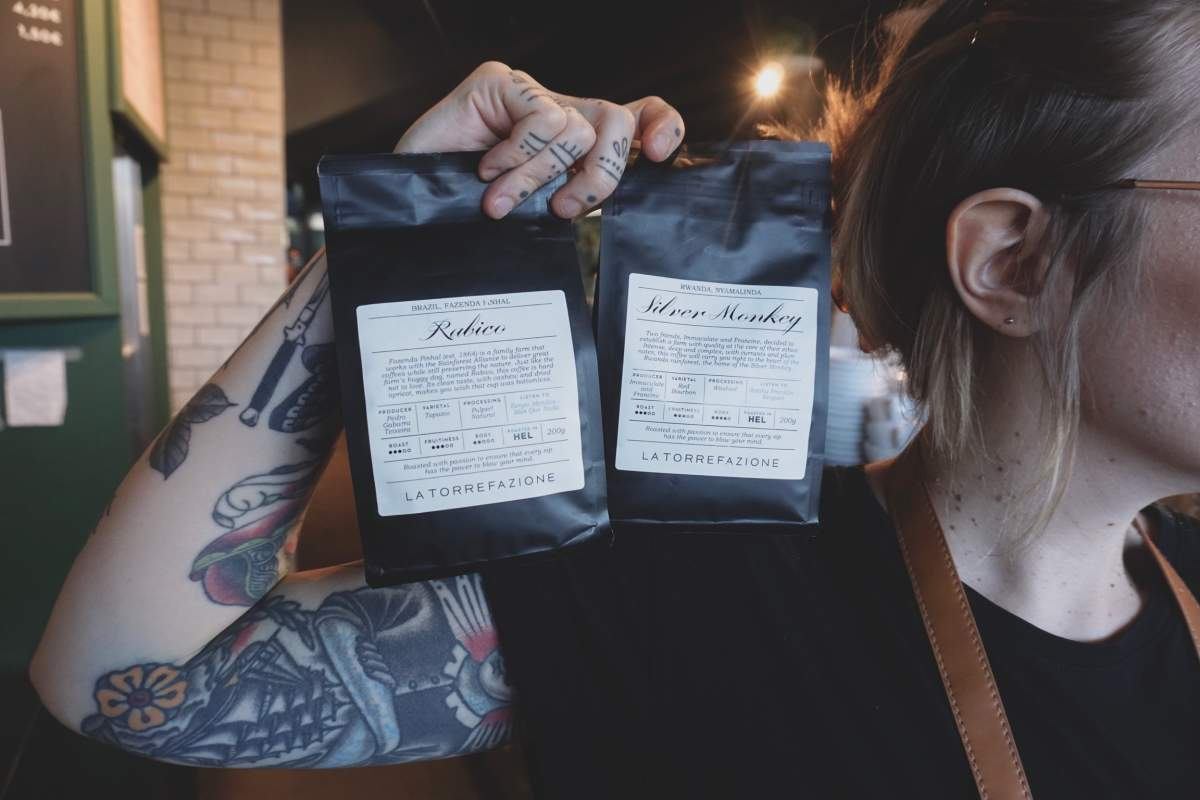 New coffees from Brazil and Rwanda.